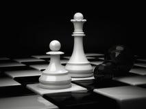 Βασίλισσα σκακιού Στοκ Εικόνες