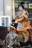 Βασίλισσα στο φεστιβάλ του Νάγκουα, Ιαπωνία στοκ εικόνα