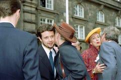 βασίλισσα της Δανίας margrethe Στοκ εικόνα με δικαίωμα ελεύθερης χρήσης