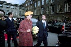 βασίλισσα της Δανίας margrethe Στοκ εικόνες με δικαίωμα ελεύθερης χρήσης
