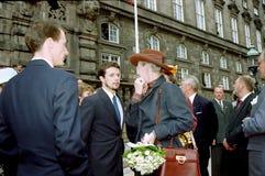 βασίλισσα της Δανίας margrethe Στοκ Εικόνες