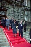 βασίλισσα της Δανίας margrethe Στοκ Εικόνα