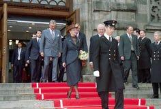 βασίλισσα της Δανίας margrethe Στοκ Φωτογραφία