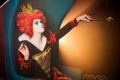 Βασίλισσα των διαταγών καρδιών Στοκ φωτογραφίες με δικαίωμα ελεύθερης χρήσης