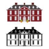 Βασίλισσα Anne Style Mansion Στοκ Φωτογραφίες