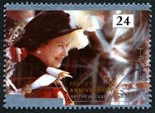 Βασίλισσα Elizabeth Accession Anniversary Στοκ Εικόνες