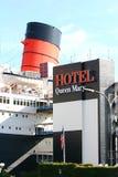 Βασίλισσα Mary στο Λονγκ Μπιτς, Καλιφόρνια, ΗΠΑ Στοκ φωτογραφία με δικαίωμα ελεύθερης χρήσης