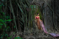Βασίλισσα Naga Στοκ φωτογραφία με δικαίωμα ελεύθερης χρήσης