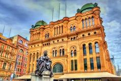 Βασίλισσα Victoria Building στο Σίδνεϊ, Αυστραλία Χτισμένος το 1898 στοκ εικόνες με δικαίωμα ελεύθερης χρήσης