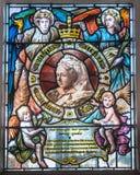 Βασίλισσα Victoria Glass Στοκ φωτογραφία με δικαίωμα ελεύθερης χρήσης