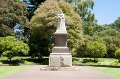 Βασίλισσα Victoria Statue - Περθ - Αυστραλία στοκ φωτογραφία με δικαίωμα ελεύθερης χρήσης