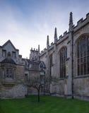 Βασίλισσες College, Cambridge Στοκ φωτογραφίες με δικαίωμα ελεύθερης χρήσης