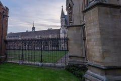 Βασίλισσες College, Cambridge Στοκ φωτογραφία με δικαίωμα ελεύθερης χρήσης