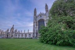 Βασίλισσες College, Cambridge Στοκ εικόνες με δικαίωμα ελεύθερης χρήσης