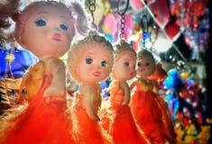 Βασικά δαχτυλίδια σε μια μορφή της κούκλας στοκ φωτογραφία με δικαίωμα ελεύθερης χρήσης