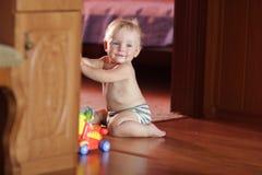 βασικά παιχνίδια μωρών Στοκ εικόνα με δικαίωμα ελεύθερης χρήσης