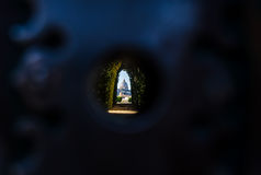 Βασική άποψη της Ρώμης τρυπών Αγίου Peters Στοκ εικόνα με δικαίωμα ελεύθερης χρήσης