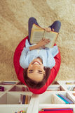 βασική ανάγνωση κοριτσιών Στοκ Εικόνες