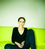 βασική γυναίκα Στοκ εικόνες με δικαίωμα ελεύθερης χρήσης