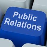 Βασική επικοινωνία ειδησεογραφικών μέσων μέσων δημόσιων σχέσεων on-line στοκ φωτογραφία με δικαίωμα ελεύθερης χρήσης