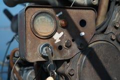 Βασική παλαιά μηχανή βαρκών Στοκ φωτογραφία με δικαίωμα ελεύθερης χρήσης