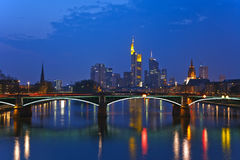 βασική όψη της Φρανκφούρτη&sigma στοκ εικόνες