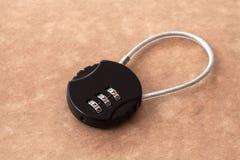 Βασικός κωδικός πρόσβασης κλειδαριών Στοκ Εικόνα
