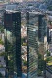 βασικός ουρανοξύστης της Φρανκφούρτης Γερμανία Στοκ φωτογραφίες με δικαίωμα ελεύθερης χρήσης