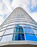 βασικός ουρανοξύστης τη&si Στοκ Εικόνα