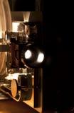 βασικός παλαιός προβολέας κινηματογράφων Στοκ Φωτογραφία