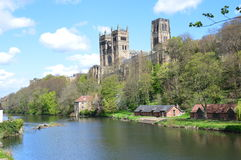 βασικός πρίγκηπας Durham Αγγλία χριστιανισμού καθεδρικών ναών επισκόπων τόπων γεννήσεως Στοκ φωτογραφία με δικαίωμα ελεύθερης χρήσης