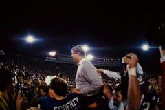 Βασικός προπονητής του Μπιλ Parcells New York Giants Στοκ Φωτογραφίες