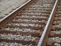 βασικός σιδηρόδρομος γραμμών Στοκ εικόνα με δικαίωμα ελεύθερης χρήσης