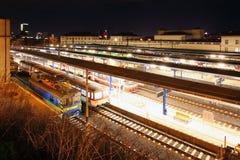 Βασικός σταθμός στη Βρατισλάβα Στοκ φωτογραφία με δικαίωμα ελεύθερης χρήσης