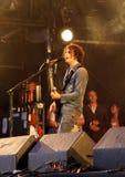 βασικός τραγουδιστής fratellis  Στοκ Εικόνα