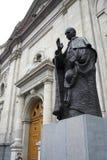 βασικό άγαλμα της Χιλής de Σαντιάγο Στοκ φωτογραφία με δικαίωμα ελεύθερης χρήσης