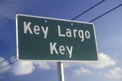 βασικό βραδύτατο Keyï ¿ ½ σημάδι ï ¿ ½, Key West, Φλώριδα Στοκ Φωτογραφία