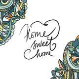 βασικό γλυκό Hand-drawn αναδρομικό σχέδιο κυμάτων, κυματιστό γραφική απεικόνιση χρωματισμού βιβλίων ζωηρόχρωμη Στοκ φωτογραφία με δικαίωμα ελεύθερης χρήσης