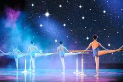 Βασικό εκπαιδευτικό μάθημα χορού Στοκ Φωτογραφία