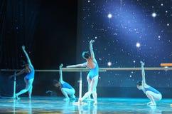 Βασικό εκπαιδευτικό μάθημα χορού Στοκ φωτογραφία με δικαίωμα ελεύθερης χρήσης
