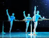 Βασικό εκπαιδευτικό μάθημα χορού Στοκ Φωτογραφίες