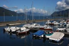 Βασικό λιμάνι του Aix-Les-Bains Στοκ Εικόνες