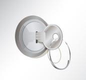 βασικό μέταλλο κλειδωμά&ta Στοκ φωτογραφία με δικαίωμα ελεύθερης χρήσης