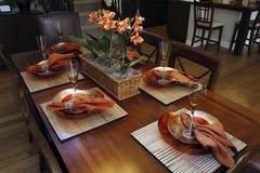 Βασικό να δειπνήσει πολυτέλειας Στοκ φωτογραφία με δικαίωμα ελεύθερης χρήσης