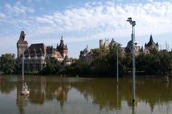 βασικό πάρκο πόλεων της Βουδαπέστης Στοκ φωτογραφίες με δικαίωμα ελεύθερης χρήσης