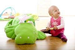 βασικό παιχνίδι μωρών Στοκ Φωτογραφία
