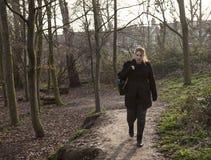 βασικό περπάτημα Στοκ Εικόνα