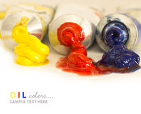 βασικό πετρέλαιο χρωμάτων Στοκ φωτογραφίες με δικαίωμα ελεύθερης χρήσης