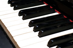 βασικό πιάνο Στοκ φωτογραφίες με δικαίωμα ελεύθερης χρήσης