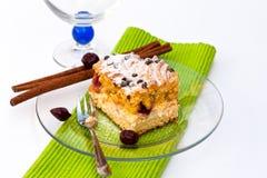 βασικό ρούμι κερασιών κέικ Στοκ φωτογραφία με δικαίωμα ελεύθερης χρήσης